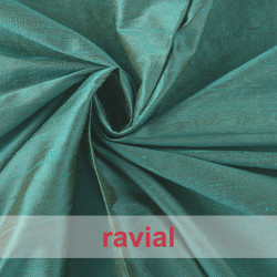 DIVA. Natural silk fabric.