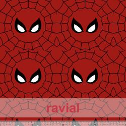 POPELIN MICRO FIBRA ESTP. Poplin fabric with antibacterial and waterproof treatment, permanent in multiple washes. Spiderman pri