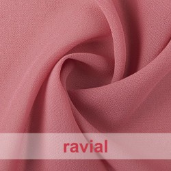 BEIRA. Thin chiffon fabric. Perfect for special occasion dresses or to combine with satin.