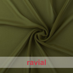 DRAVA. Thin chiffon fabric. Perfect for special occasion dresses or to combine with satin.