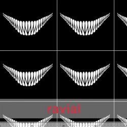D-STRECH ESTP. Polyester fabric. Smile print. Pattern: 18x16cm.