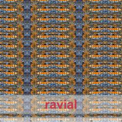 KIRA. Soft satin fabric with abstract print.