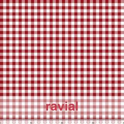 KIRA. Soft satin fabric with check pattern (1 cm.).