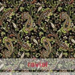 EIRA. Printed knit fabric.