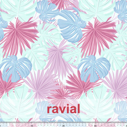 ECO-BAIKAL. Printed recycled polyester fabric.