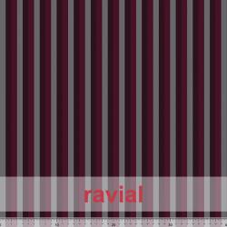 D-STRECH ESTP. Polyester fabric with 1 cm stripe pattern.