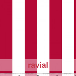 D-STRECH ESTP. Strech fabric with 6,50 cm. stripe pattern.