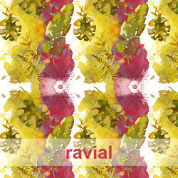 """GYMBATH. Stretch fabric """"special swimwear"""". Abstract/ Nature print."""