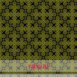 GYMFLUOR. Special dance fabric, with geometric print.