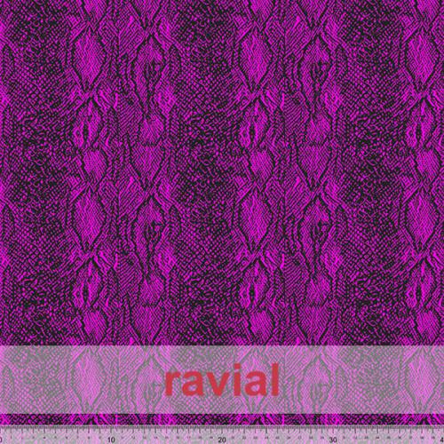 GYMFLUOR. Special dance fabric, with animal print.