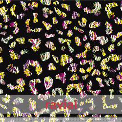 GYMFLUOR. Special dance fabric. Abstract print.