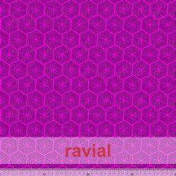 GYMFLUOR. Tissu spécial de danse. Impression géométrique.