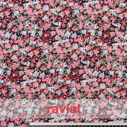 SALOBREÑA. Soft fabric with small flower print.