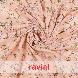 SALOBREÑA. Soft fabric with small flower print.