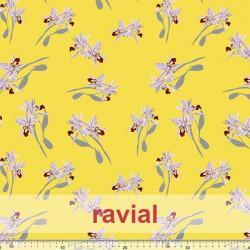 D-NATASHA. Very drapey crepe fabric. Orchid print.