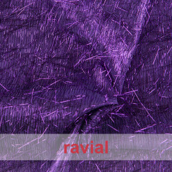 FANTASIA SALSA. Fabric with small fringes.