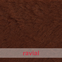 ANIMALIA PELUSO. Tissu en fourrure synthétique poils courts doux.