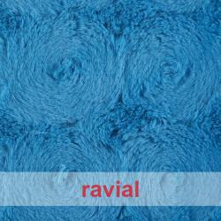 ANIMALIA CASTOR. Article en fourrure synthétique poils courts.