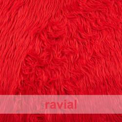 ANIMALIA BUBU. Tissu en fourrure synthétique poils longs de 5 cm.