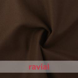 LLAMA. Stretch pressed wool fabric.