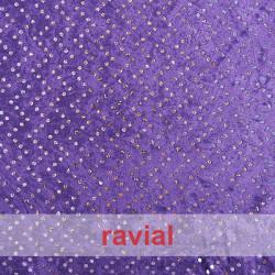 VELVET MARTELE HOLO. Hologram stretch velvet fabric. OEKO-TEX Standard 100
