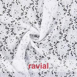 SULLIVAN. Stretch lace fabric.