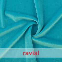 SLASTIC. Stretch velvet fabric.