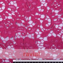 MUXIA. Guipure lace fabric.