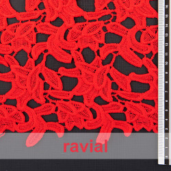 BARBATE. Guipure lace fabric.