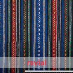 ETNICO APACHE. Cotton fabric. Perfect for ponchos, linings, costumes, etc.