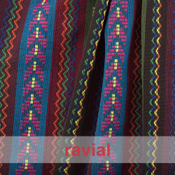 ETNICO ALPUJARRA. Cotton fabric. Perfect for ponchos, linings, costumes, etc.