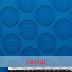 LIVIA LISO. Tissu uni dévoré en coton.