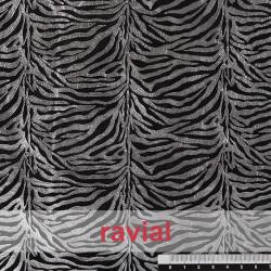 ANIMALIA SELVA. Tejido synthétique peau de zèbre