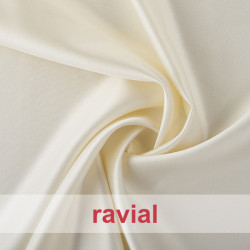 DIDAC. Reversible satin fabric.