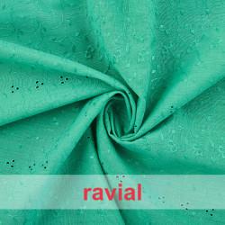 RUMBA 8. Embroidered batiste fabric.