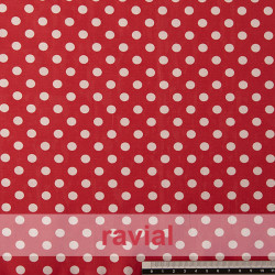 CANDELA. Spandex and cotton fabric, ideal for fitted dresses.