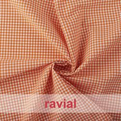 CHECK 3 mm. Vichy fabric 3 mm.