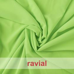SAVA. Chiffon fabric with spandex.