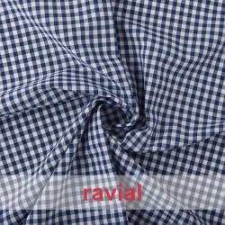 CHECK 5 mm. Vichy fabric 5 mm.