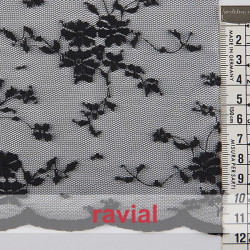 TULES RANYA. Very soft lace fabric.