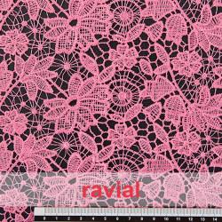 DENIA. Guipure lace fabric.