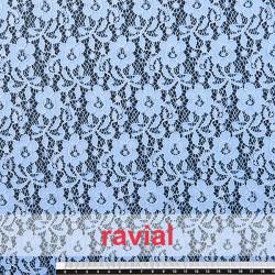 ALBOREA. Elastic lace fabric.