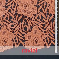 MOGAN. Guipure lace fabric.