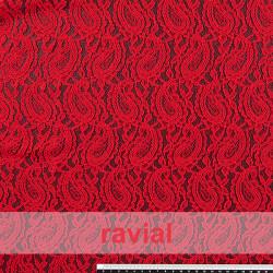 BLONDA VALY. Stretch lace fabric.