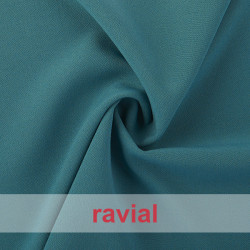 JULIETA. Plain polyester fabric with spandex, ideal for trousers. Summer item.