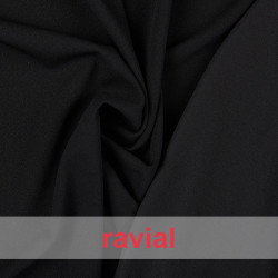 LANZADA. Two-sided neoprene fabric, matte for one side and shiny on the other side.