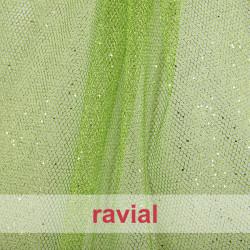 TUL CHRISMALLA. Rigid net fabric.
