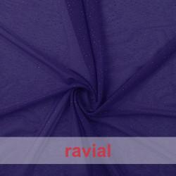TULPUR. Tejido de tul elástico con puntitos de purpurina.