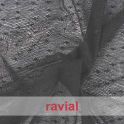 TUL AVIOR. Stretch tulle fabric.