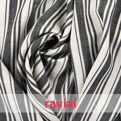 PALMER. Very soft striped fabric.